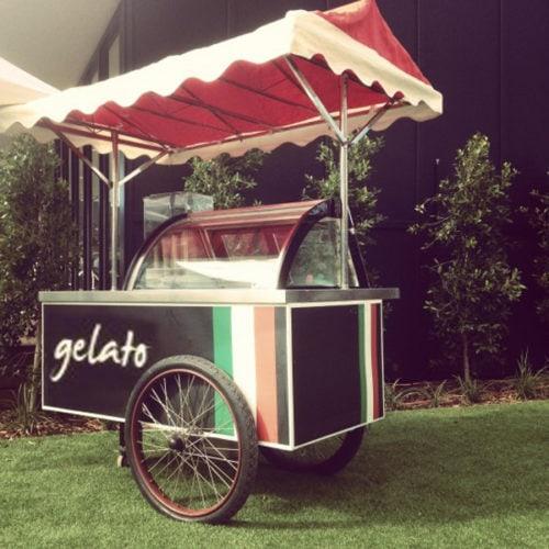 Gelato food truck